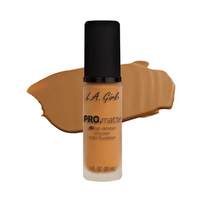 LA Girl PRO Matte Foundation Golden Bronze GLM680