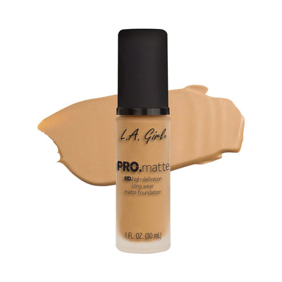 LA Girl PRO Matte Foundation Natural GLM674