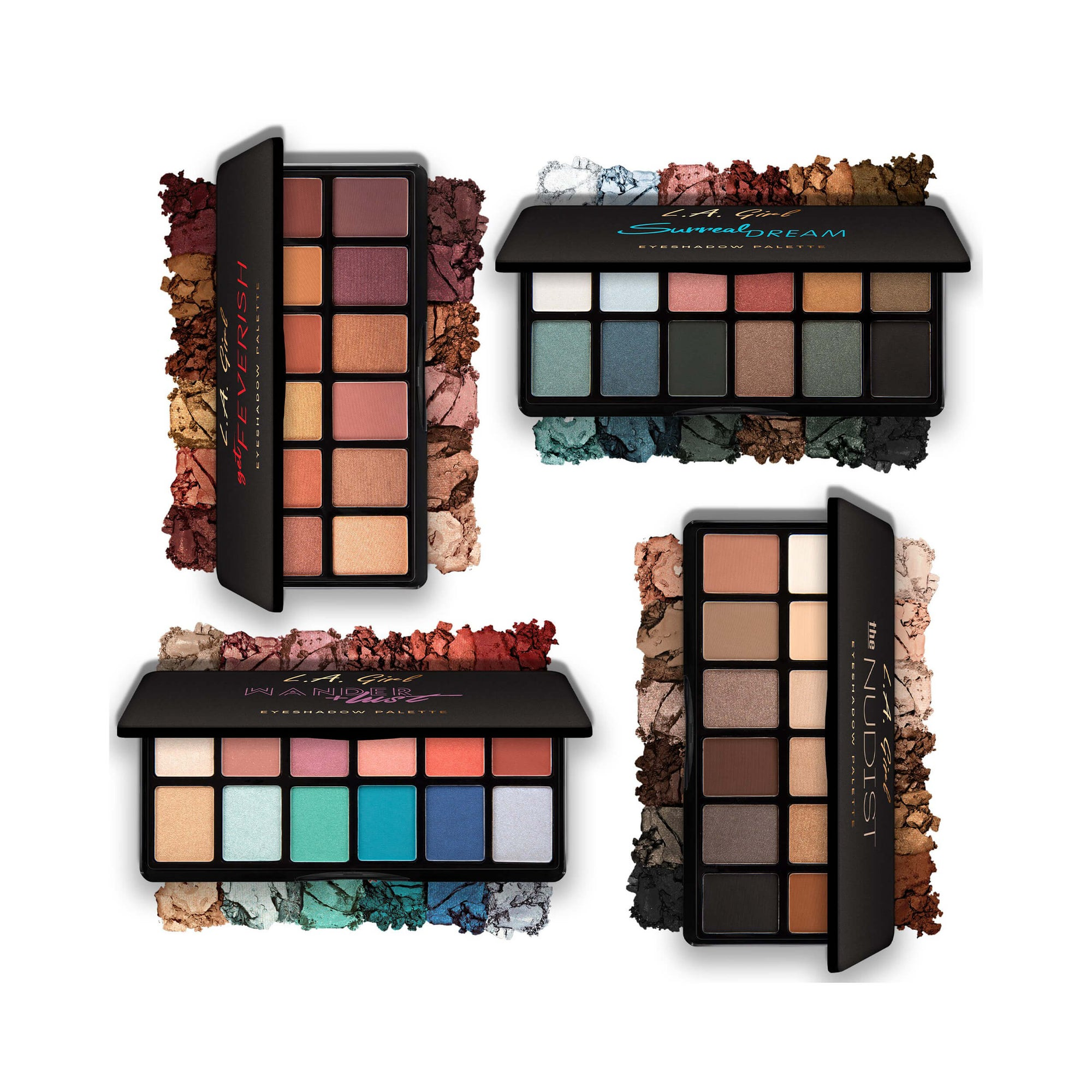 LA Girl USA Fanatic Eyeshadow Palette