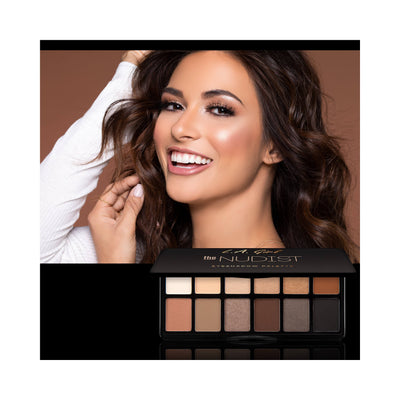 LA Girl USA Fanatic Eyeshadow Palette The Nudist GES418