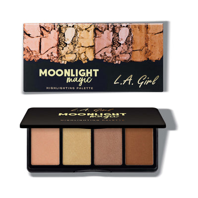 LA Girl USA Fanatic Highlighting Palette Moonlight Magic GBL426