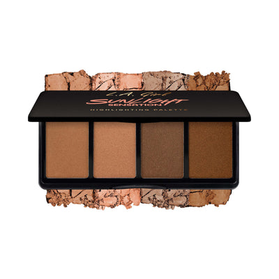 LA Girl USA Fanatic Highlighting Palette Sunlight Sensation GBL427