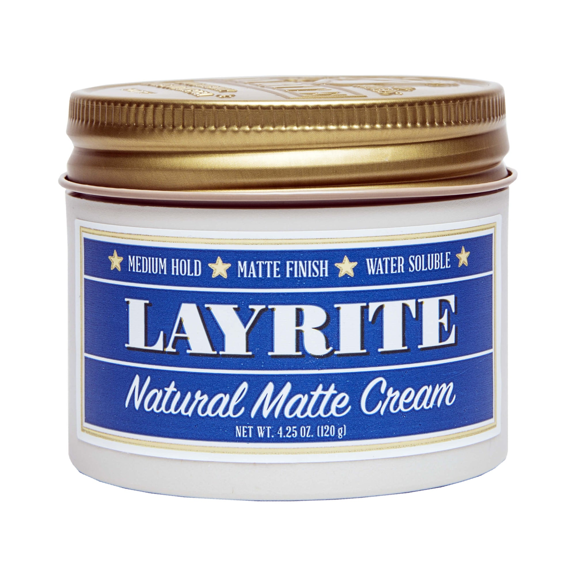 Layrite Natural Matte Cream 120 g (4.25 oz)