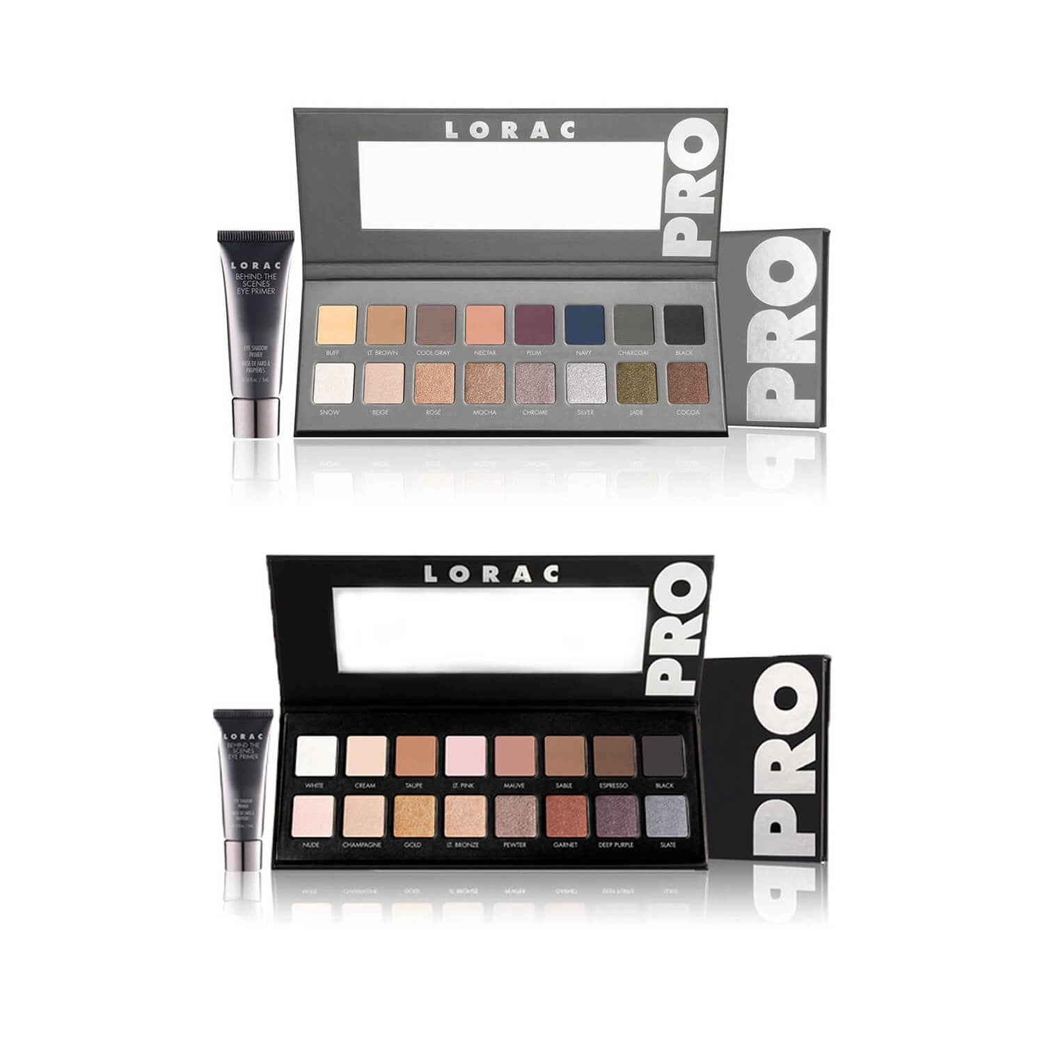 LORAC PRO PALETTE 1 and 2 DUO