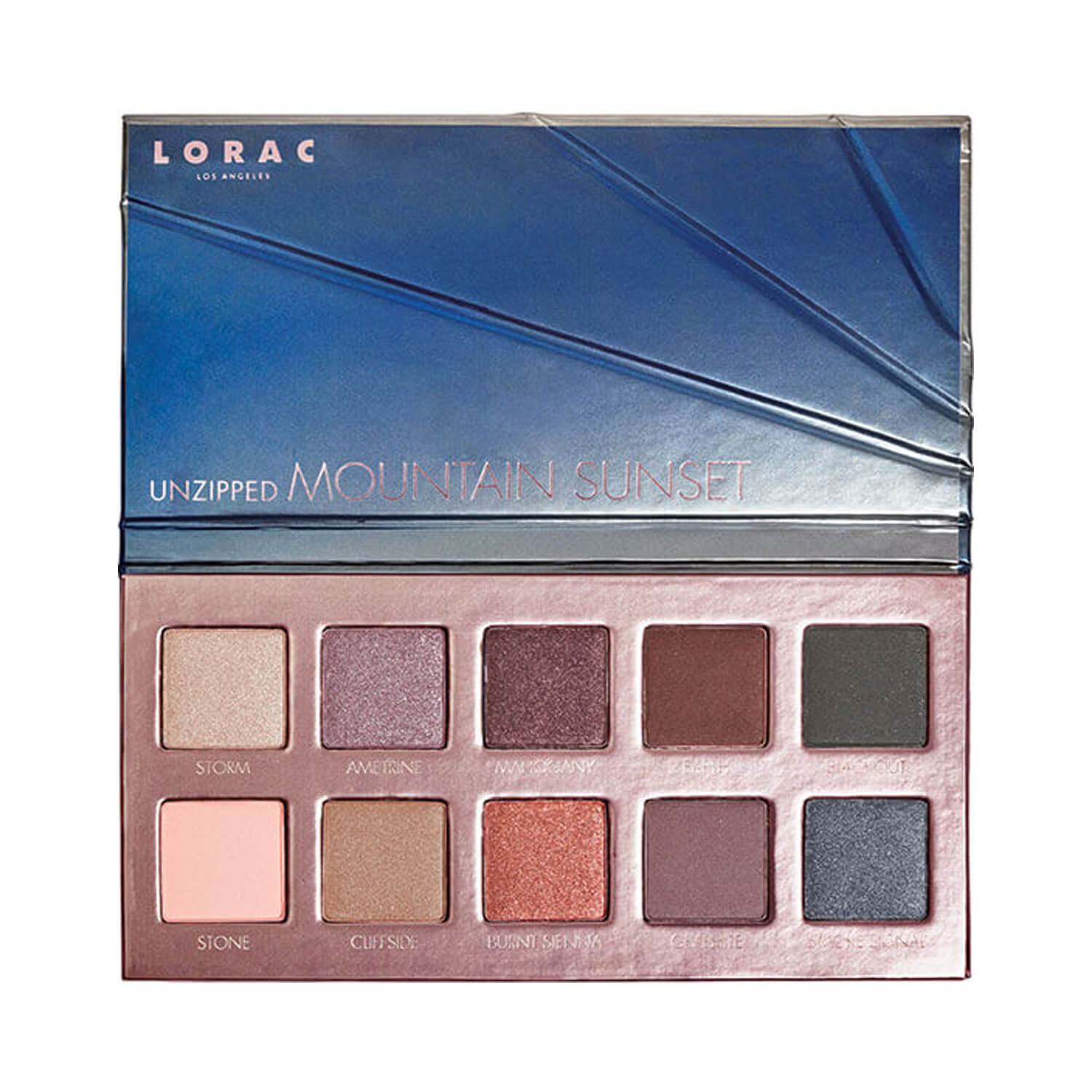 Lorac Unzipped Mountain Sunset Eyeshadow Palette