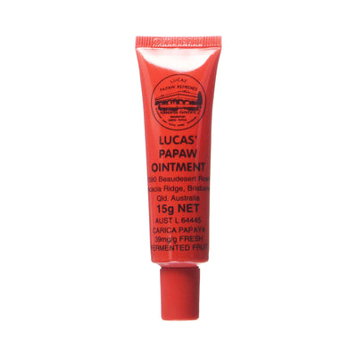 Lucas' Papaw Remedies Ointment Tube with Lip Applicator 15g
