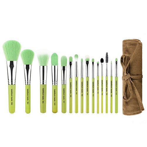 BDellium Tools - Green Bambu Complete 15pc with Roll-up Pouch