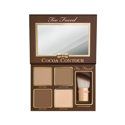 Too Faced Cocoa Contour Chiseled to Perfection Open Half