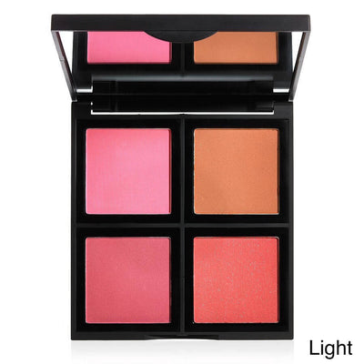 E L F Studio Blush Palette 4 Blushes Light