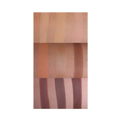 Morphe Cosmetics 9C 9 Color Highlight Contour Palette Swatches