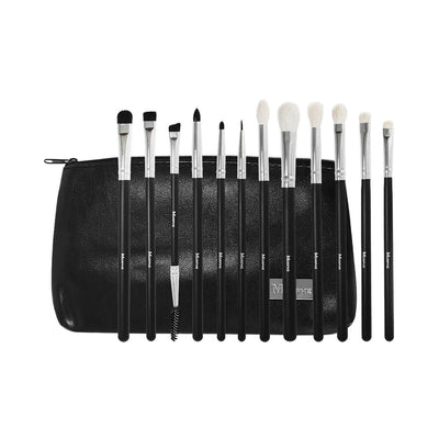 Morphe Cosmetics SET 702 12 Piece Eye Credible Brush Set