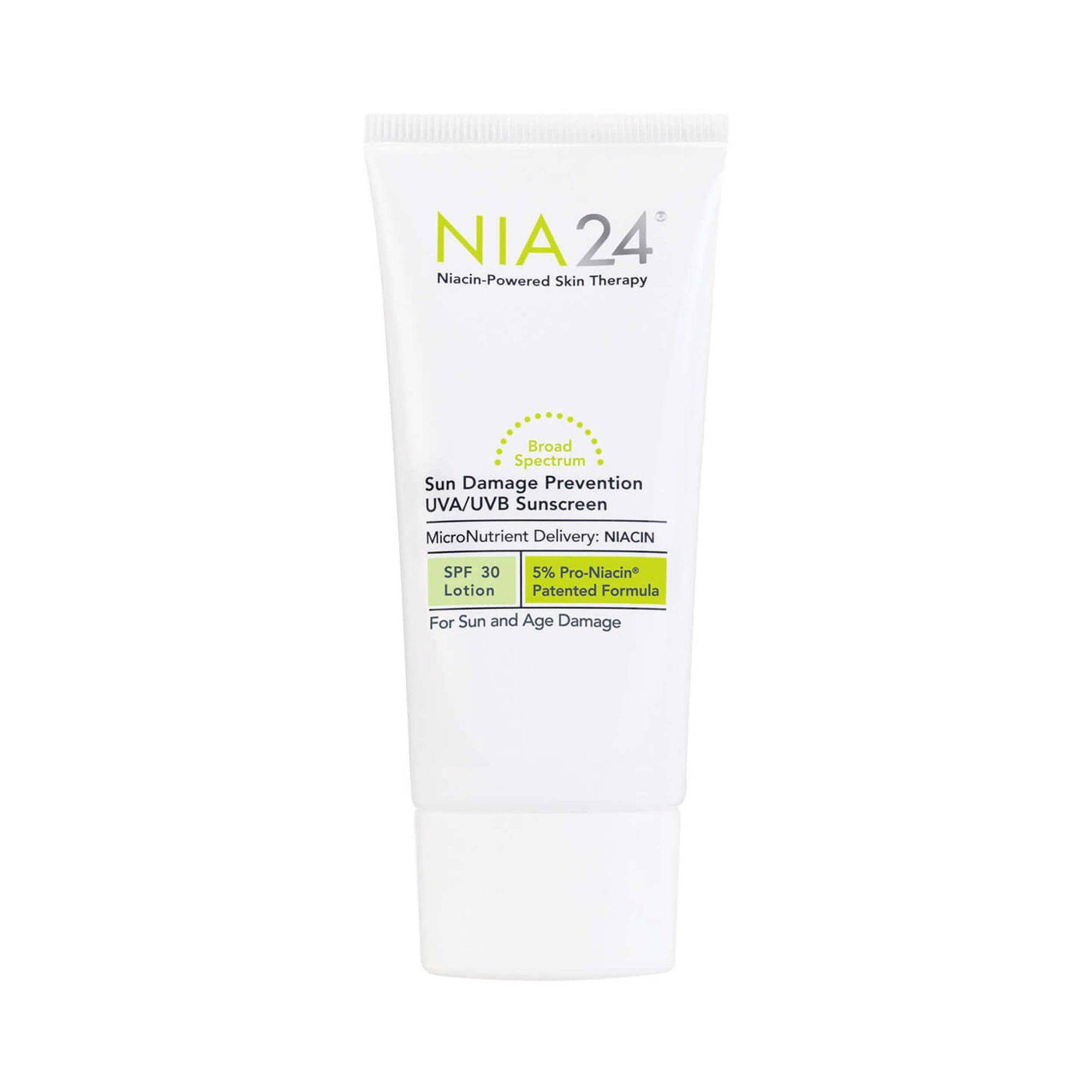Nia 24 Sun Damage Prevention UVA / UVB Sunscreen SPF 30 75 mL