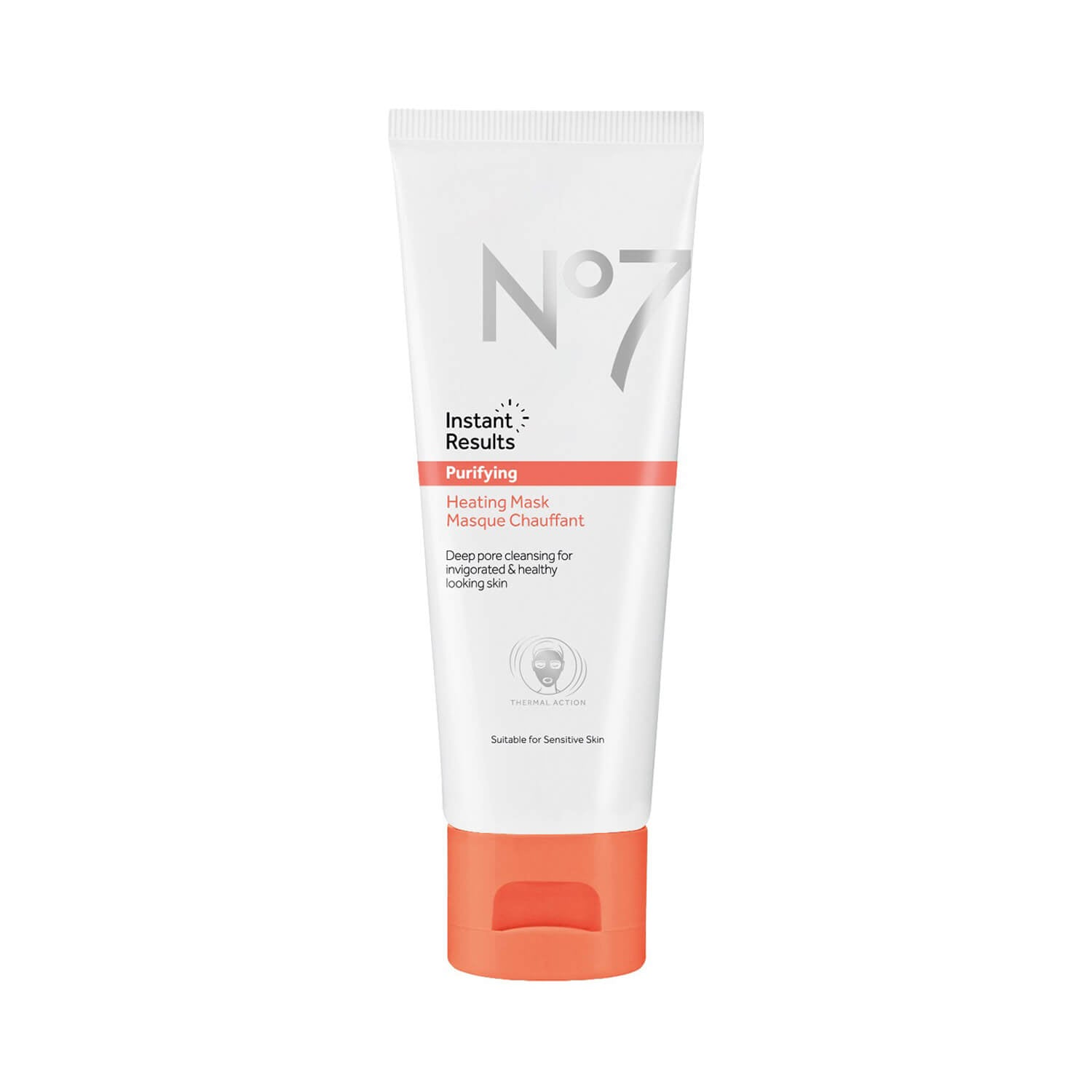 No7 Instant Results Purifying Heating Mask
