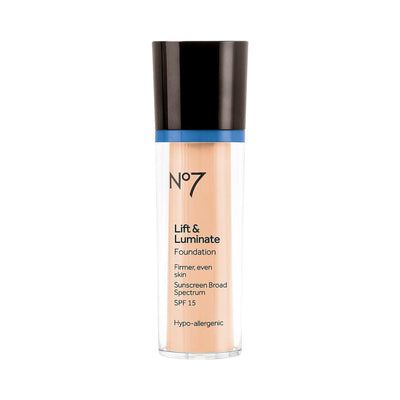 No7 Lift & Luminate Foundation SPF 15 Wheat