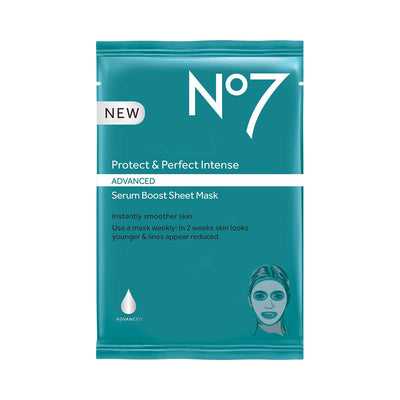 No7 Protect Perfect Intense Advanced Serum Boost Sheet Mask