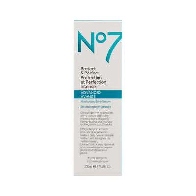 No7 Protect Perfect Intensive Advanced Body Serum 200ml