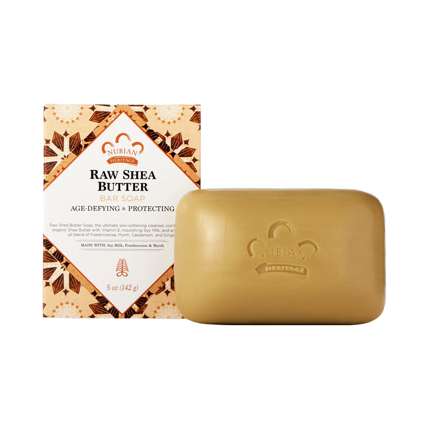 Nubian Heritage Raw Shea Butter Bar Soap 141g