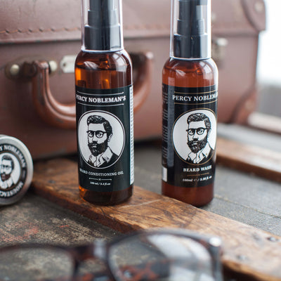 Percy Nobleman Beard Oil (Fragrance Free) 100ml