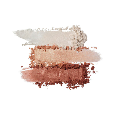 Physicians Formula Bronze Booster Highlight Contour Palette Matte Sculpting Palette Swatches 6810-0