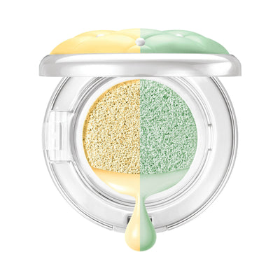 Physicians Formula Mineral Wear Talc-Free Cushion Corrector + Primer Duo SPF 20 Corrector Primer Yellow/Green Open
