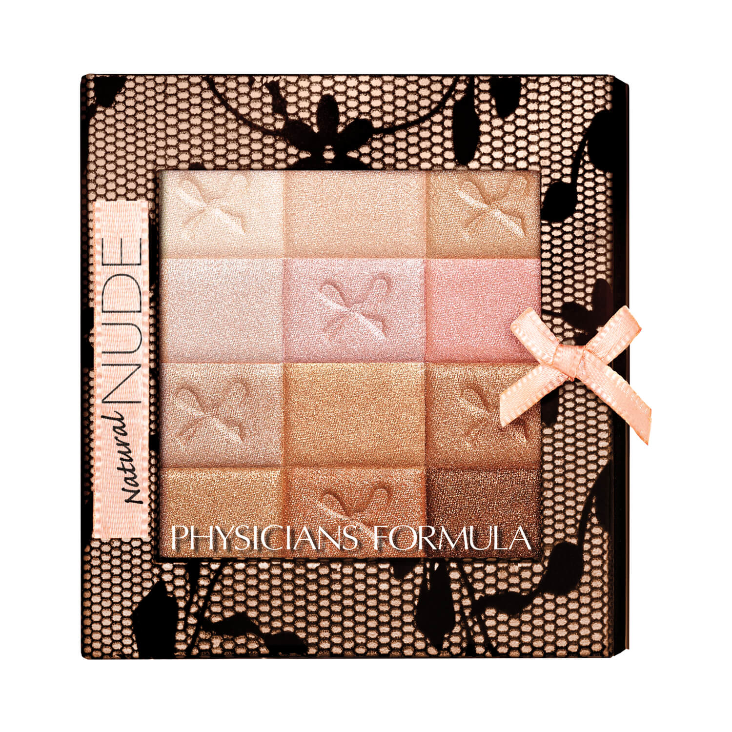 Physicians Formula Shimmer Strips All-in-1 Custom Nude Palette for Face & Eyes Natural Nude