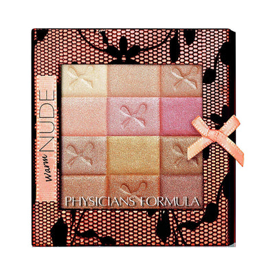 Physicians Formula Shimmer Strips All-in-1 Custom Nude Palette for Face & Eyes Warm Nude