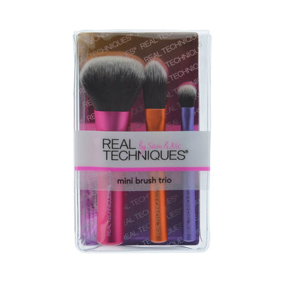 Real Techniques Mini Brush Trio Package Front