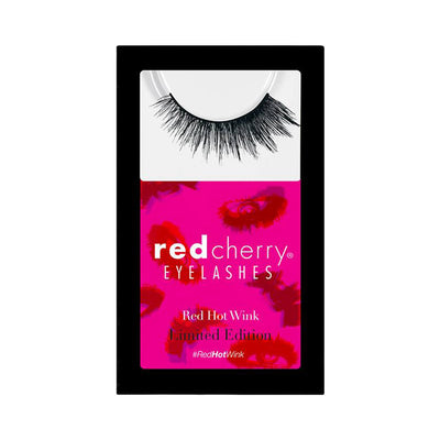 Red Cherry Red Hot Wink Shadow Effect False Eyelashes Box