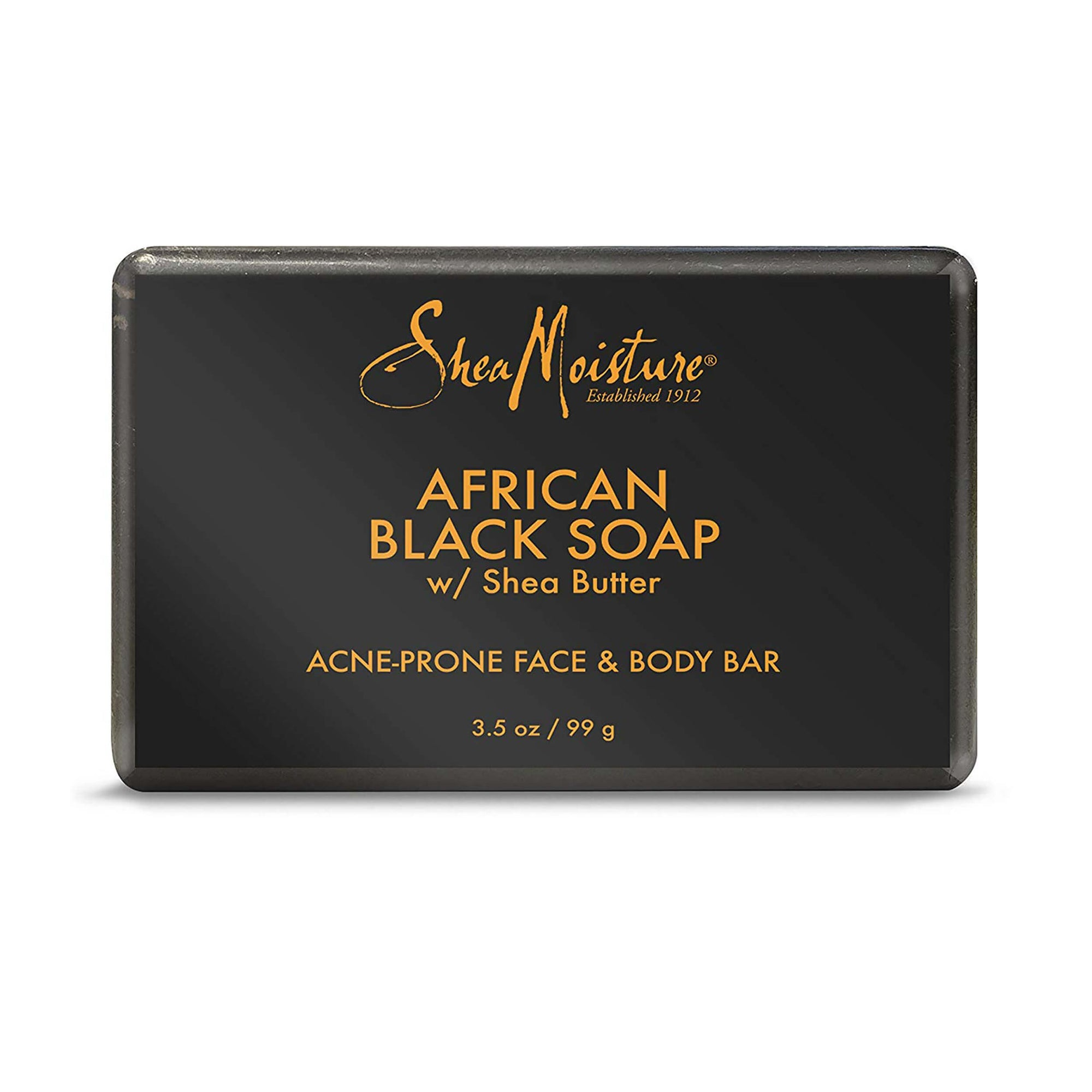 Shea Moisture African Black Soap with Shea Butter 99g