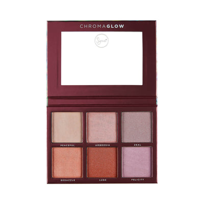 Sigma Beauty Chroma Glow Shimmer Highlight Palette
