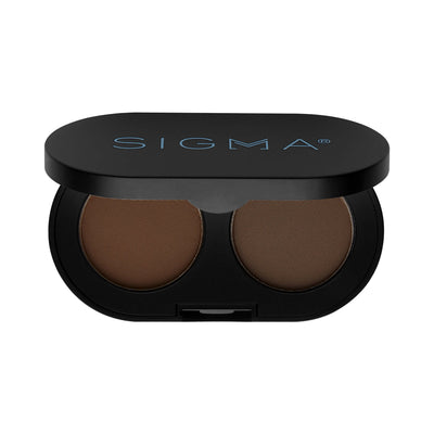 Sigma Beauty Color + Shape Brow Powder Duo Dark