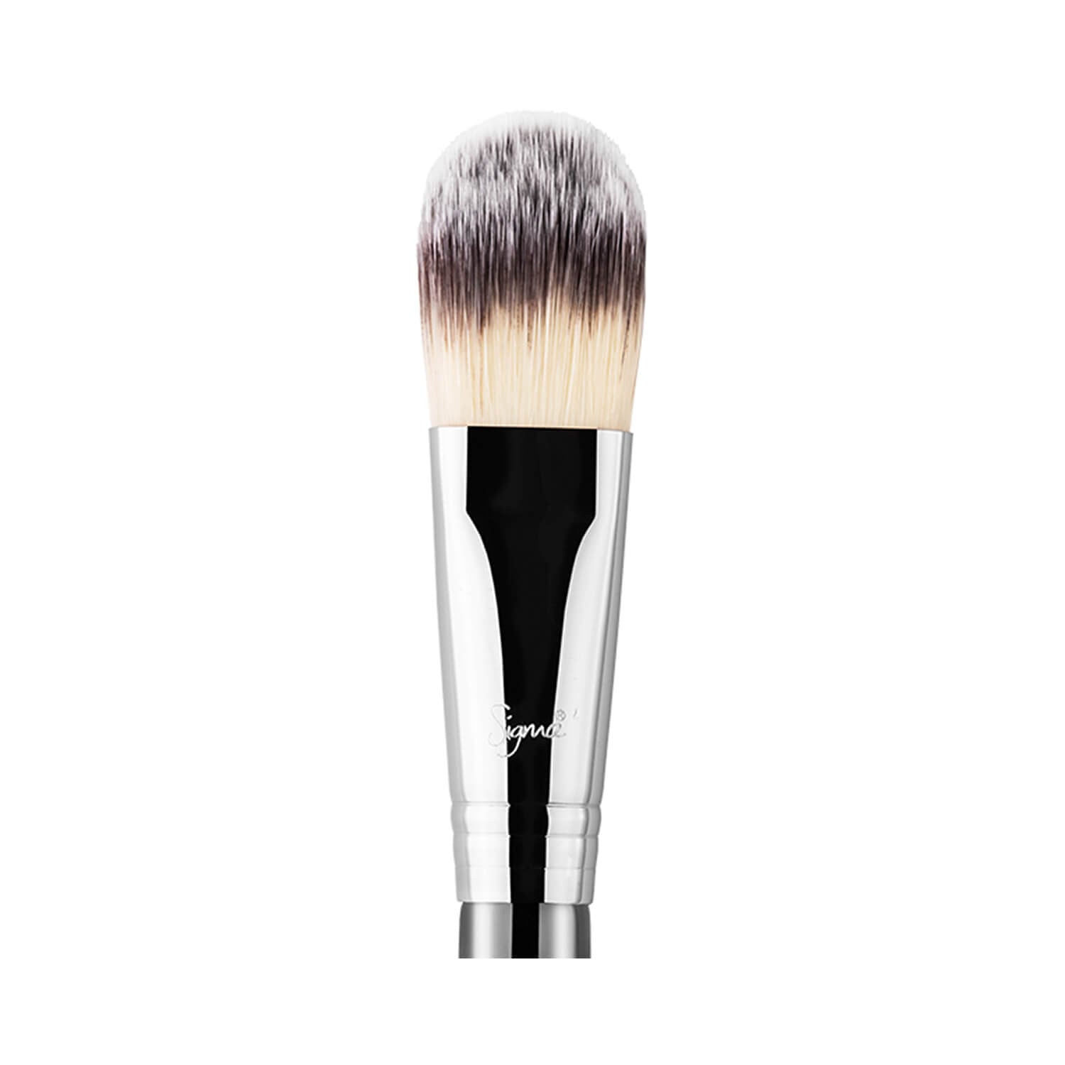 Sigma Beauty F60 Foundation Brush Chrome