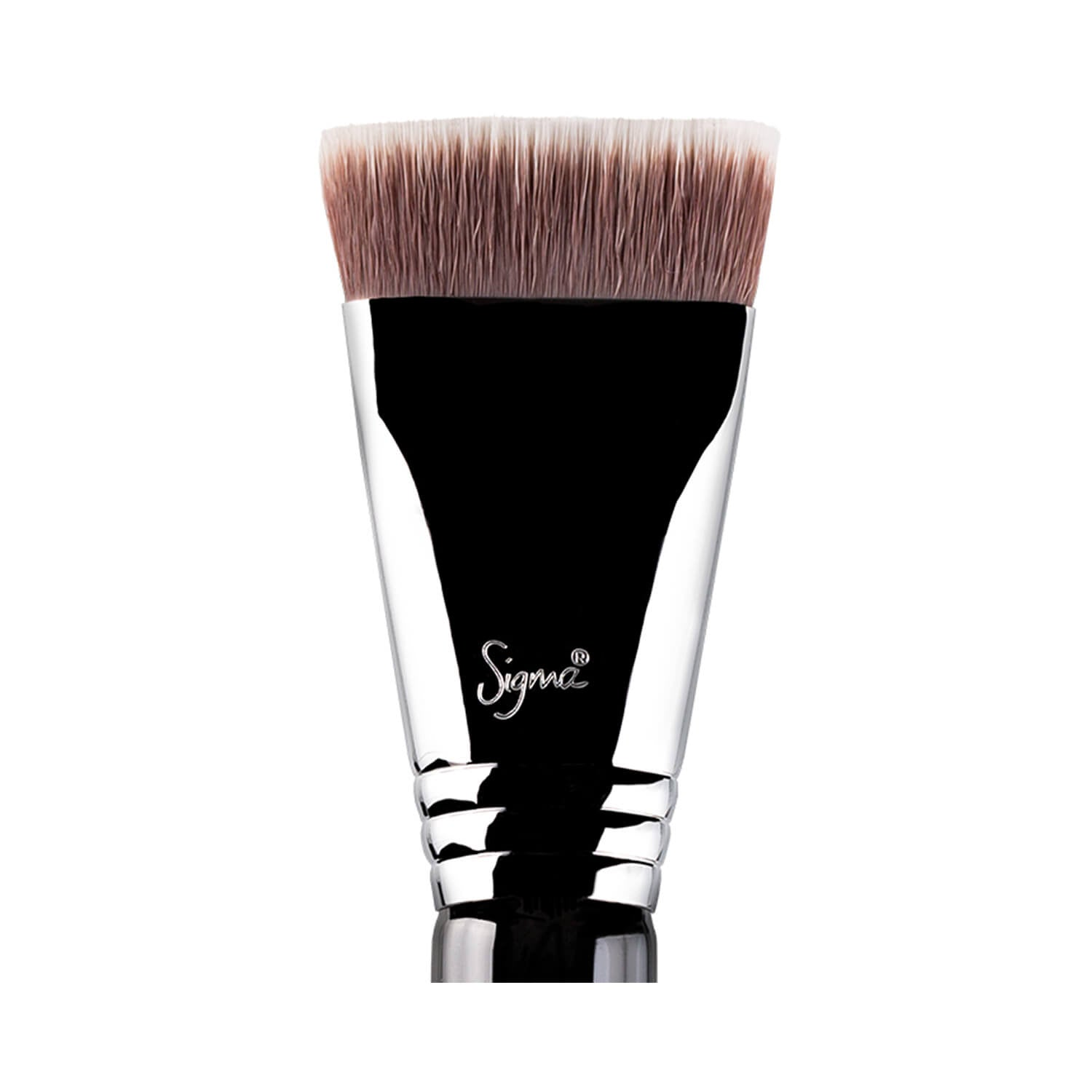 Sigma Beauty F77 Chisel and Trim Contour Head Chrome