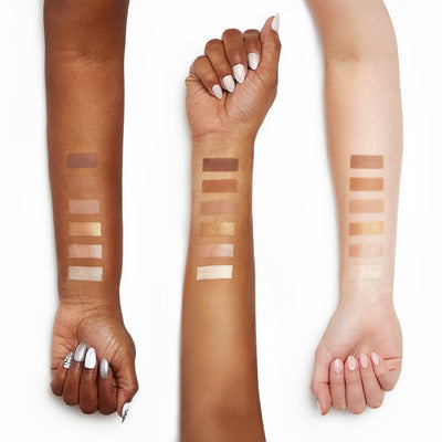Sigma Beauty Scultp Highlight Contour Palette Arm Swatches