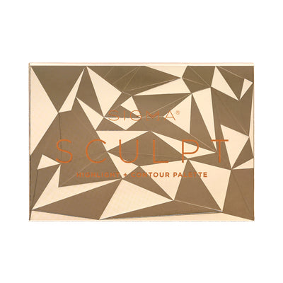Sigma Beauty Scultp Highlight Contour Palette Closed