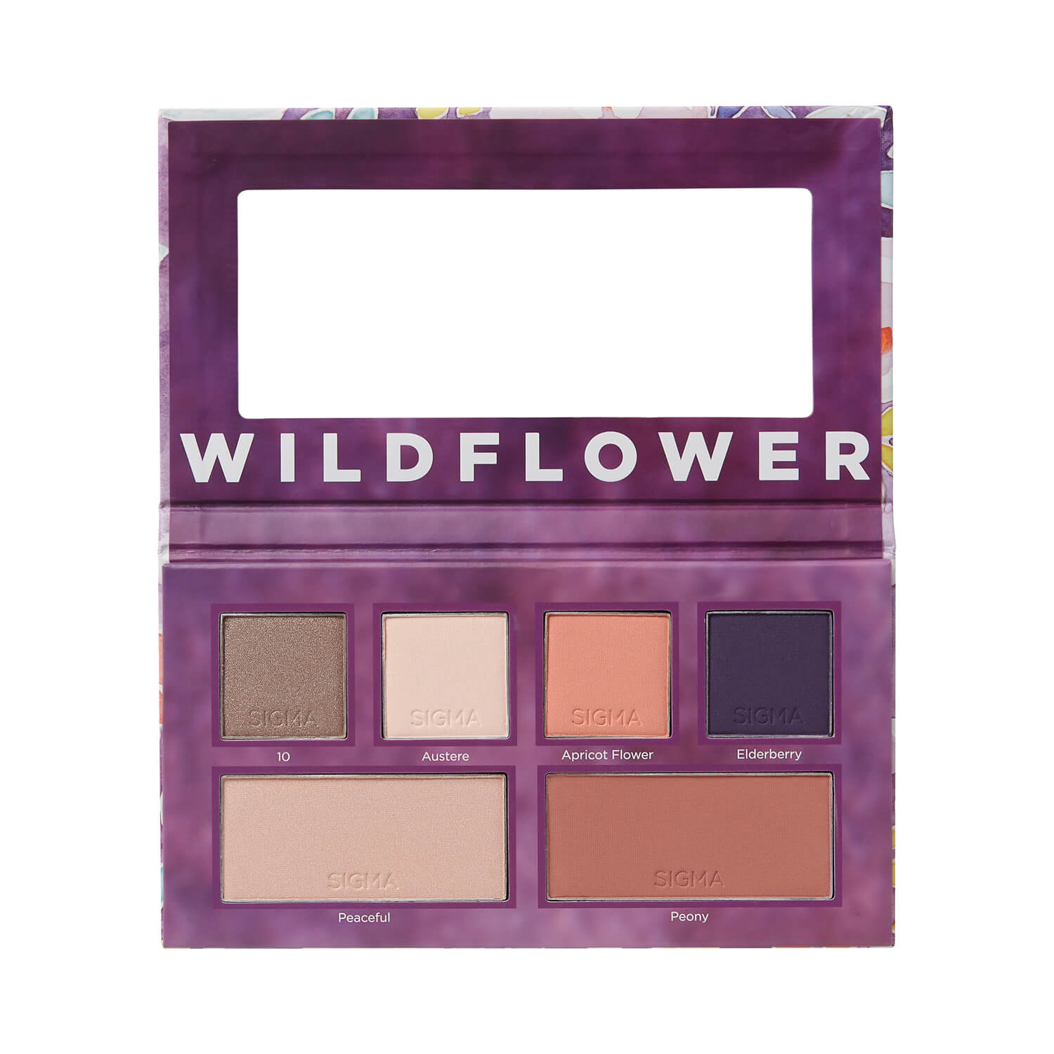 Sigma Beauty Wildflower Eye Cheek Palette
