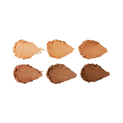 Sleek Cream Contour Kit in Dark Swatches