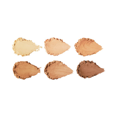 Sleek Cream Contour Kit in Medium Swatches