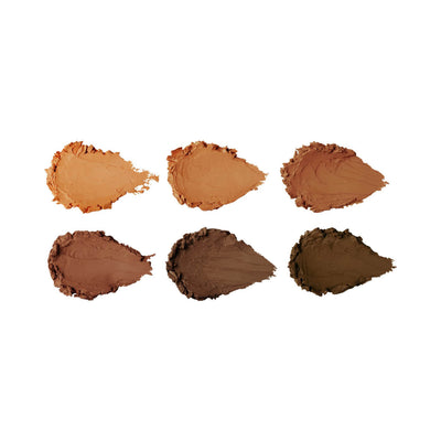 Sleek Cream Contour Kit in Extra Dark Swatches