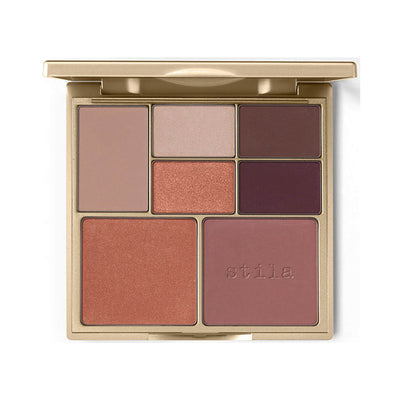 Stila Perfect Me Perfect Hue Eye Cheek Palette Medium Tan Palette