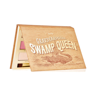TARTE Limited-edition Swamp Queen Eye & Cheek Palette With Brush