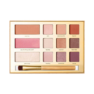 TARTE Limited-edition Swamp Queen Eye & Cheek Palette With Brush Shades