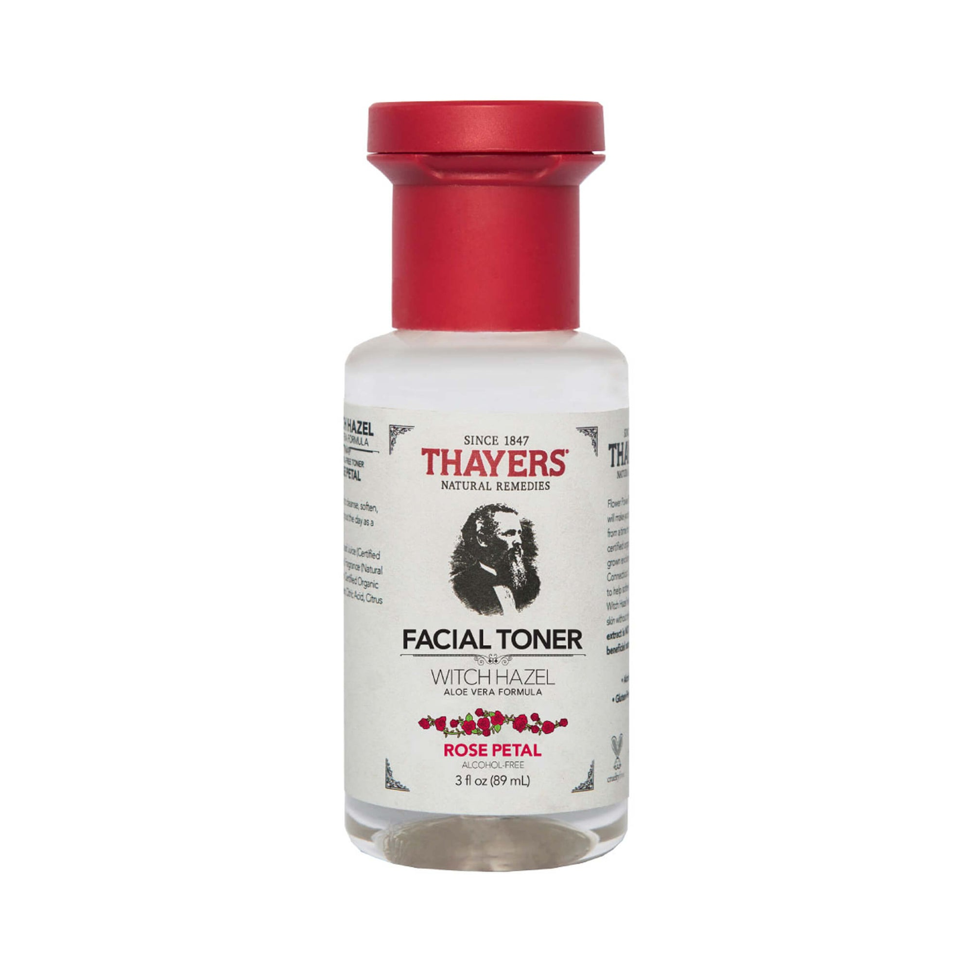 Thayers Alcohol-Free Rose Petal Witch Hazel Facial Toner Trial Size 89ml