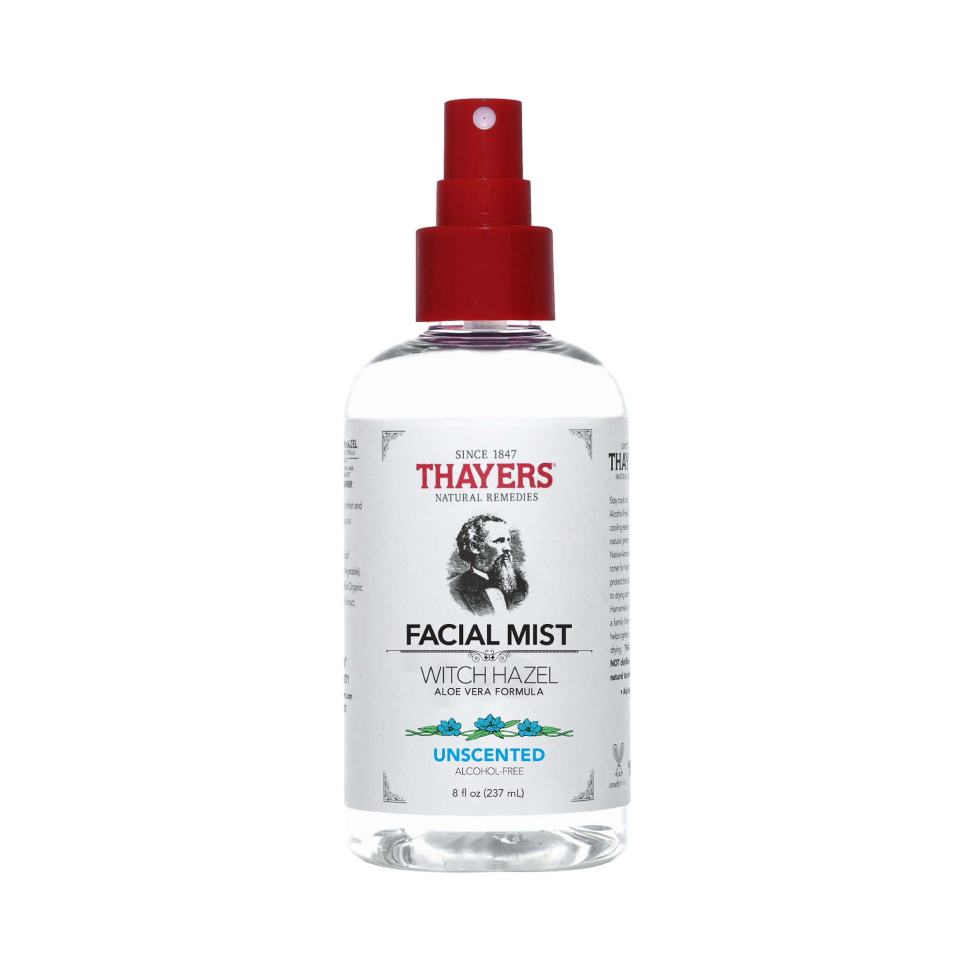 Thayers Alcohol-Free Unscented Witch Hazel Toner Facial Mist