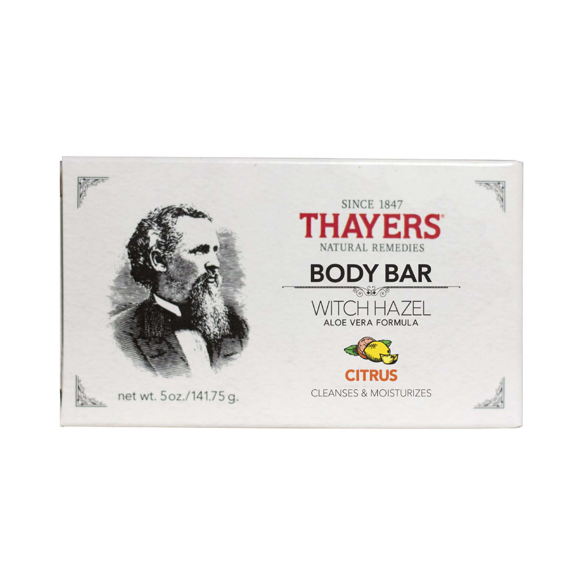 Thayers Witch Hazel Body Bar Citrus