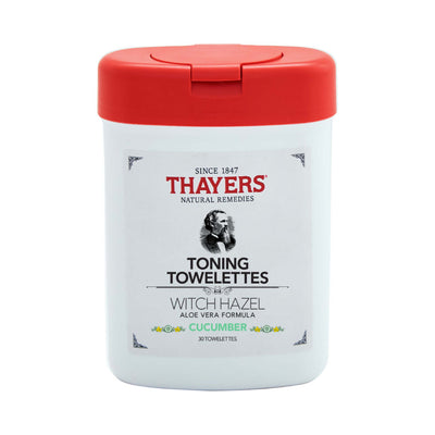 Thayers Witch Hazel Toning Towelettes Cucumber