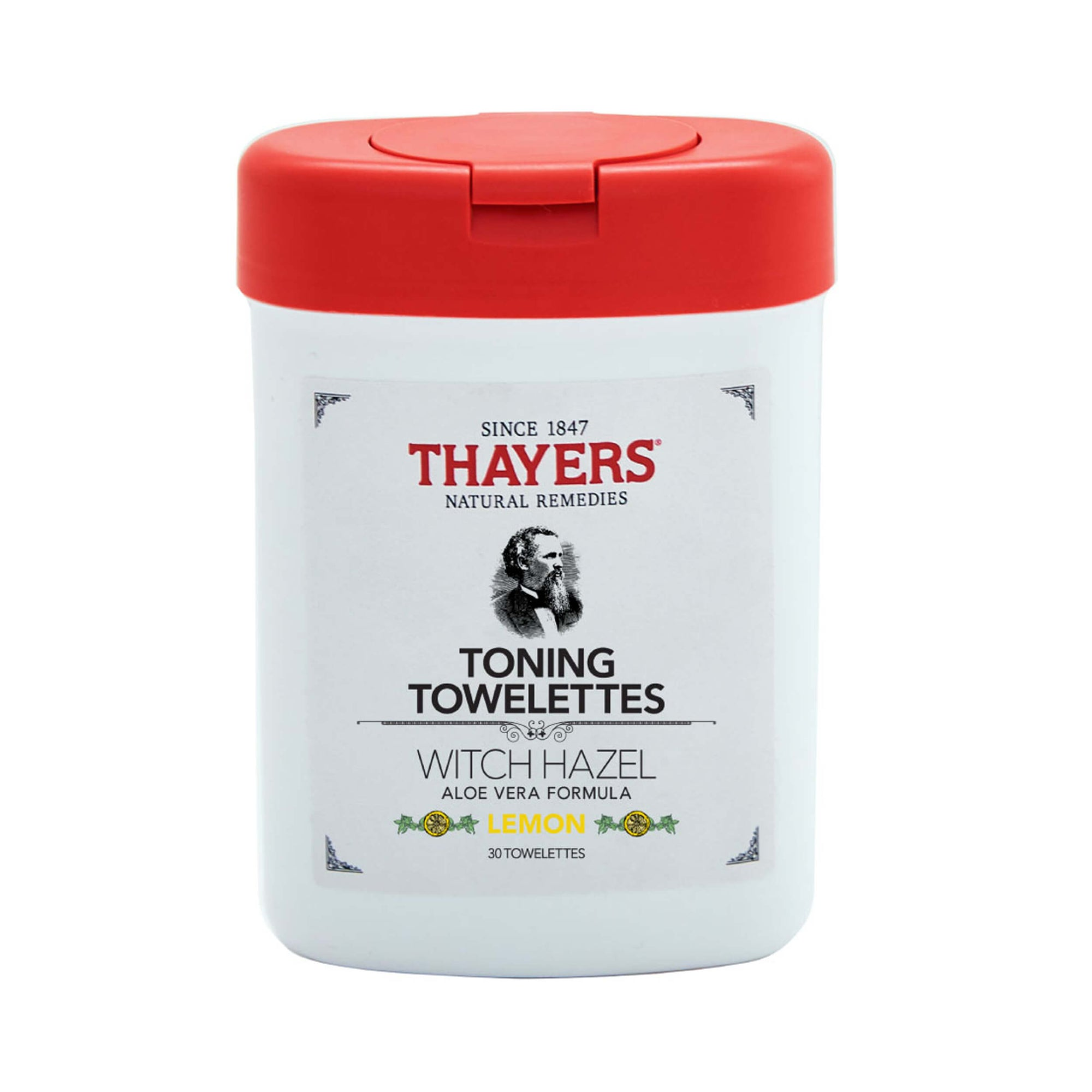 Thayers Witch Hazel Toning Towelettes Lemon Closed