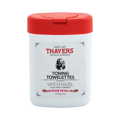 Thayers Witch Hazel Toning Towelettes Rose Petal