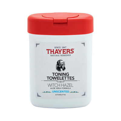 Thayers Witch Hazel Toning Towelettes Unscented