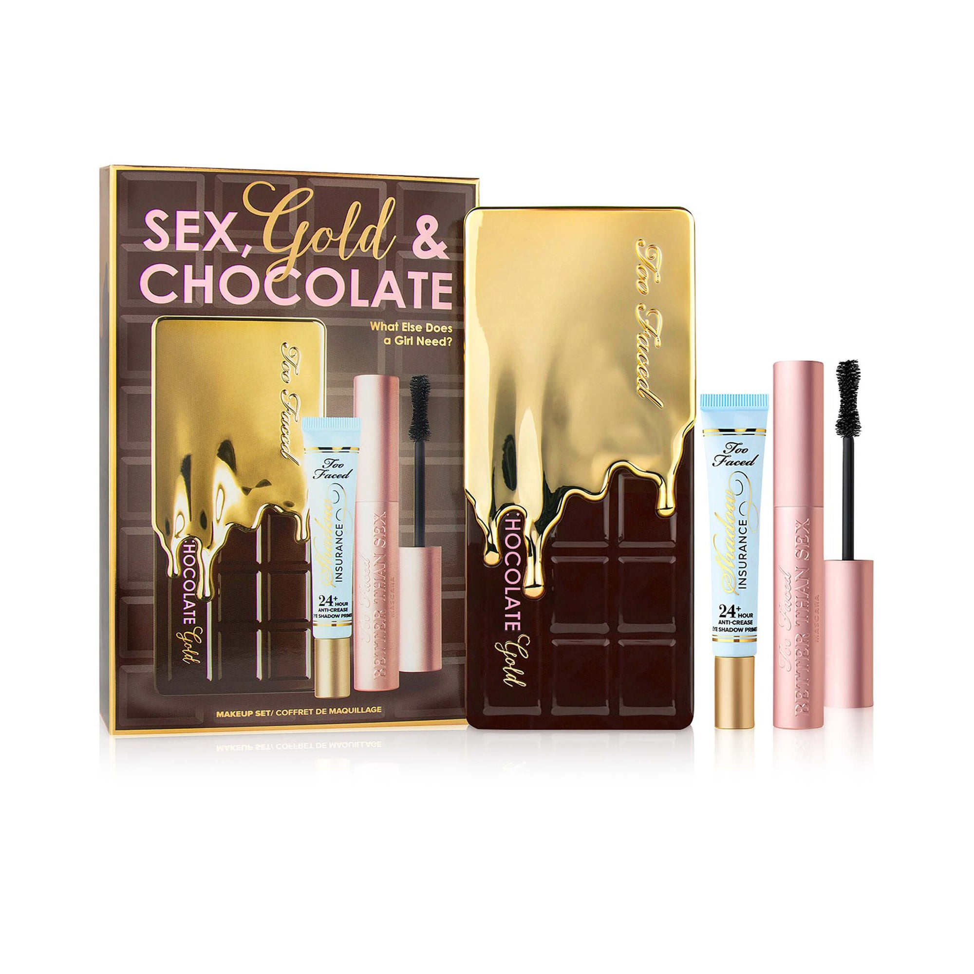 Too Faced Chocolate Gold Makeup Set Limited Edition